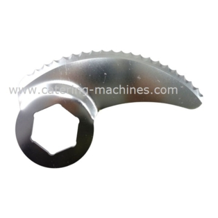 Robot Coupe Knife Single Fine Serrated Blade for R30