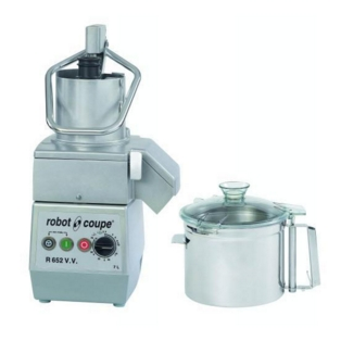 Robot Coupe R652 VV Food Processor, Variable Speed.