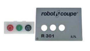 Robot Coupe R301D Control Panel Assy