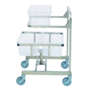 Robot Coupe CL 60 Trolley for Veg Prep Gastronorm 1/1 x 2