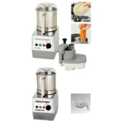 Robot coupe R302, R402 food processor with parts.