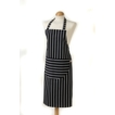 Butcher Stripe Apron Navy Large Size 100% Cotton, UK